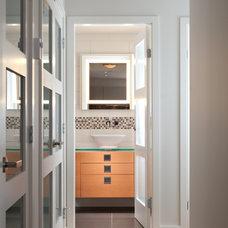 Contemporary Bathroom by sensitive design