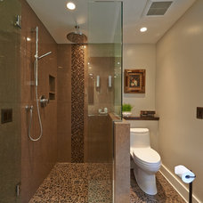 Contemporary Bathroom by Robin Rigby Fisher CMKBD/CAPS