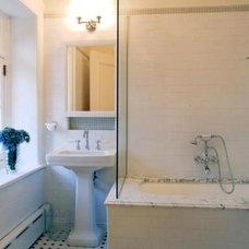 Traditional Bathroom by David Yum Architects