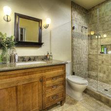 Traditional Bathroom by MAK Design + Build Inc.