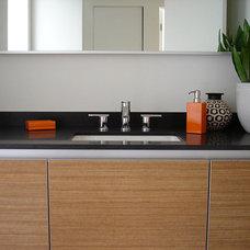 Contemporary Bathroom by ATELIER INC.