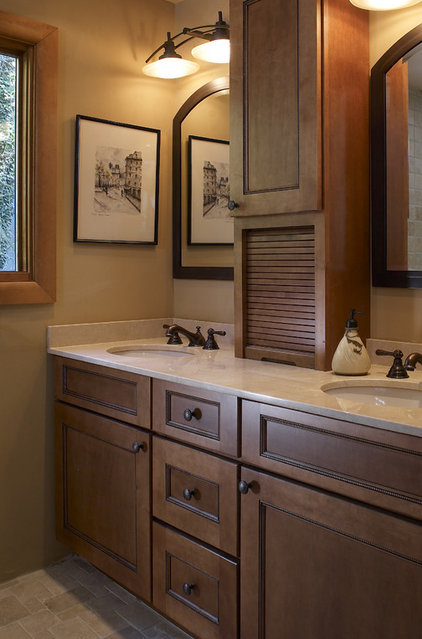 Mediterranean Bathroom by Gavin Design-Build Inc.
