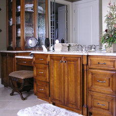 Traditional Bathroom by Curtis Cabinets