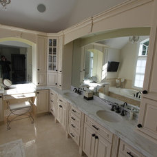 Traditional Bathroom by Home Pro Cabinetry
