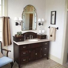 Traditional Bathroom by John Bynum