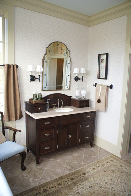 traditional bathroom by John Bynum