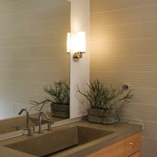 Contemporary Bathroom by McCoppin Studios