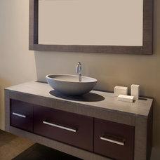 Modern Bathroom by Precision Stone Design