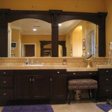 Traditional Bathroom by CustomBuilt-ins.com / CFM Company Inc.