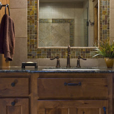 Eclectic Bathroom by Rick O'Donnell Architect