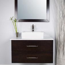 Modern Bathroom by modernbathrooms.ca