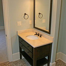 Traditional Bathroom by Webber Coleman Woodworks