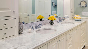 Light and Bright Master Bathroom Remodel