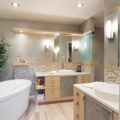 contemporary bathroom by Charisma, the design experience