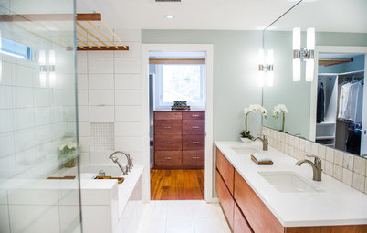 Room of the Day: A Master Bathroom Gets the Spa Treatment