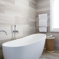 Contemporary Bathroom by Denai Kulcsar Interiors