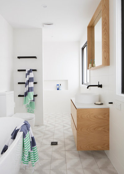 Contemporary Bathroom by Connors & Co.