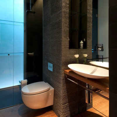 Contemporary Bathroom by Horizon - Residential & Commercial Builders