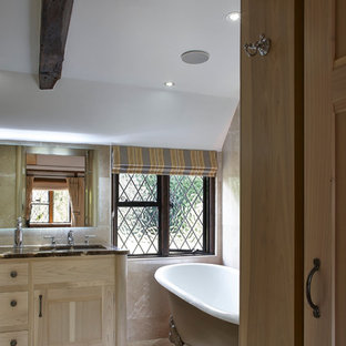 Vaulted Ceiling Bedroom and Dressing Area.