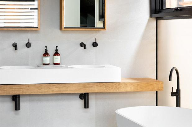 Bagno Degli Ospiti In Francese : Il bagno del mese la stessa eleganza in tre taglie da mq in su