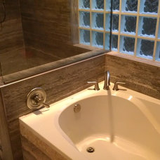 Contemporary Bathroom by Forza Stone Building Solutions Houston