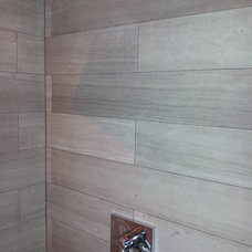 Contemporary Bathroom by Buckhannon Brothers Tile