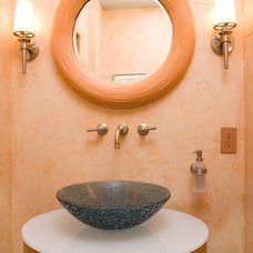 Transitional Bathroom by Designing Solutions