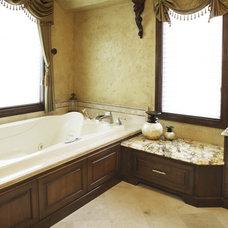 Mediterranean Bathroom by Barenz Builders