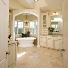 Traditional Bathroom by Michael Nash Design, Build & Homes