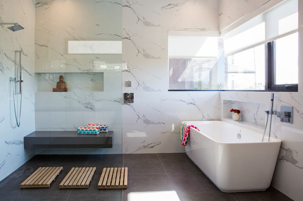 Modern Bathroom by SoCal Contractor