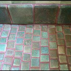 Eclectic Bathroom by venice art tiles
