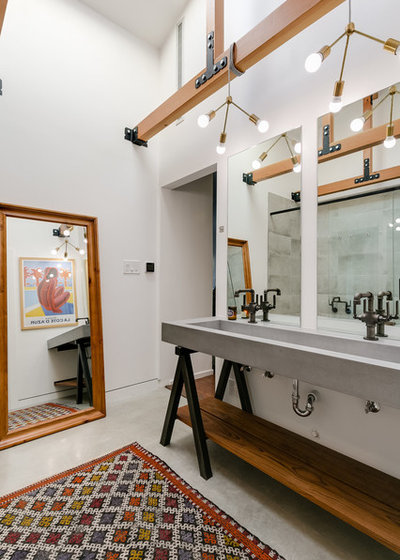 Industrial Bathroom by Racing Green