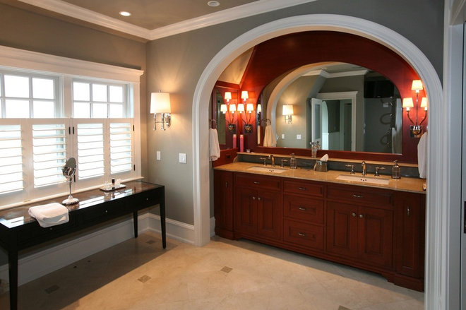 Traditional Bathroom by Bluebell Kitchens