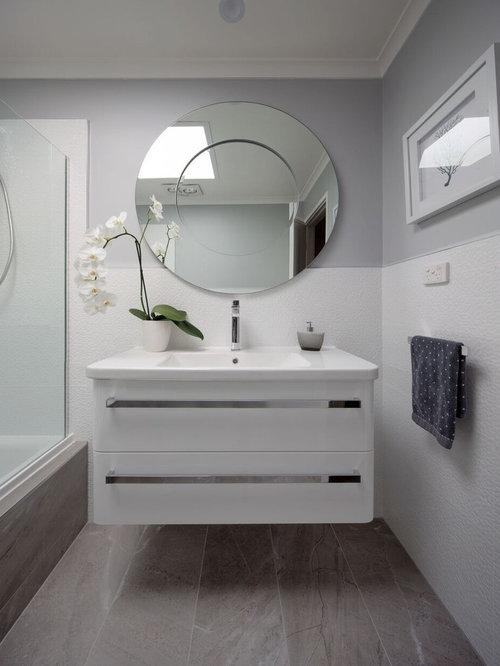 badezimmer mit speckstein waschbecken waschtisch und integriertem waschbecken design ideen. Black Bedroom Furniture Sets. Home Design Ideas