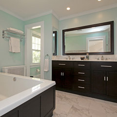 contemporary bathroom by Barnett Design Build