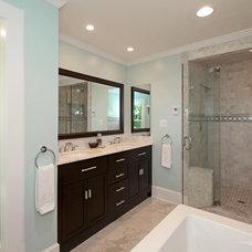 Contemporary Bathroom by Barnett Design Build