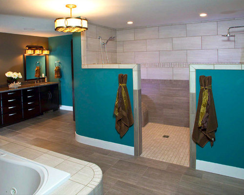 75 Dark Teal Bathroom Ideas Explore Dark Teal Bathroom