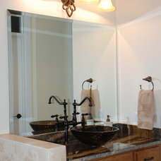 Modern Bathroom by Priester's Custom Contracting, LLC