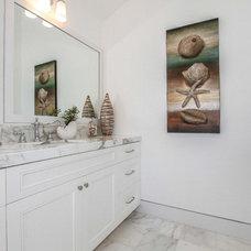 Beach Style Bathroom by Elite So Cal Homes