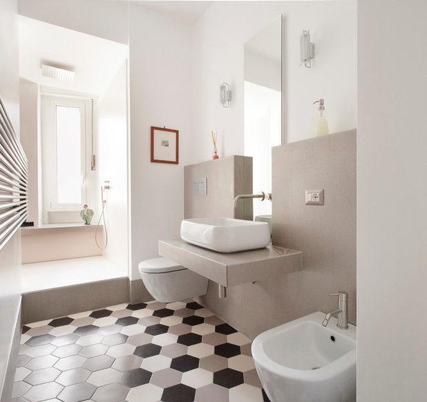 Guida houzz per bagni pratici e raffinatissimi scegli le - Piastrelle per bagni moderni ...
