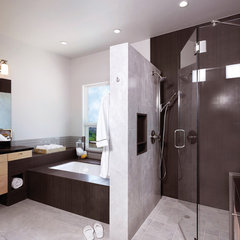 modern bathroom by HartmanBaldwin Design/Build