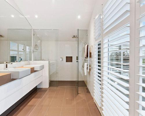 Stepless Shower Home Design Ideas Renovations Amp Photos
