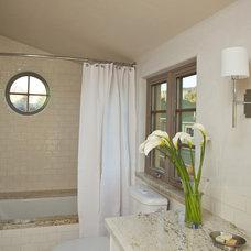 Mediterranean Bathroom by Allen Construction