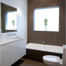 Modern Bathroom by Victoria Waters Design Pty Ltd