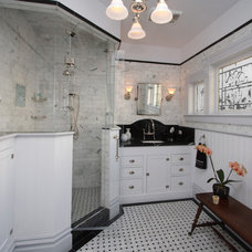 Traditional Bathroom by Joanne Cannell Designs