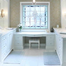 Traditional Bathroom by Shaping Your Space