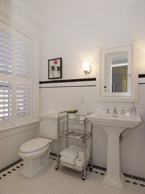Victorian Bathroom Design Ideas Renovations Photos With Ceramic Tile
