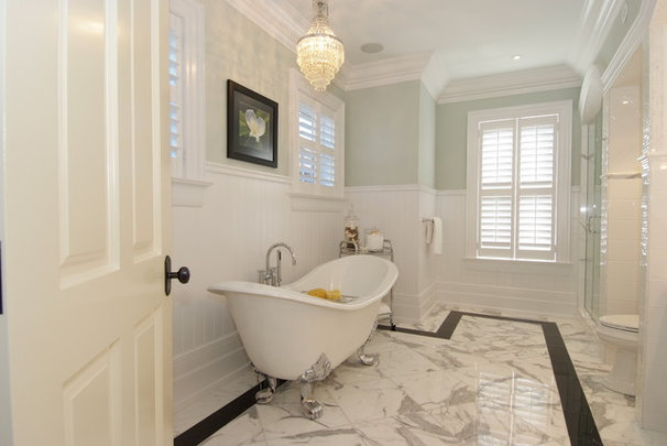 Traditional Bathroom by Lindsay Construction Services