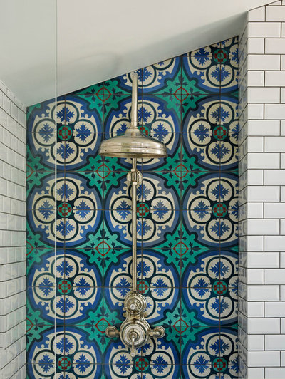 Victorian Bathroom by Rustico Tile and Stone