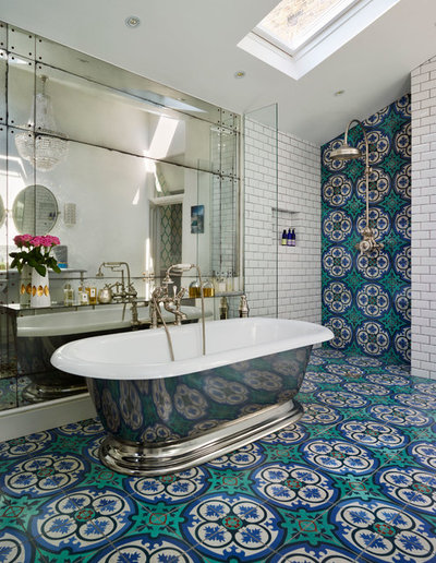 Victorien Salle de Bain by Rustico Tile and Stone